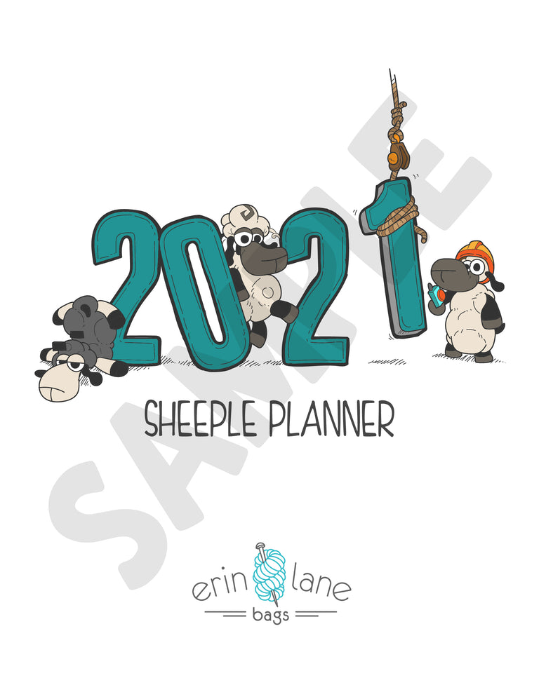 2021 Sheeple Planner Download- PRINT FILE