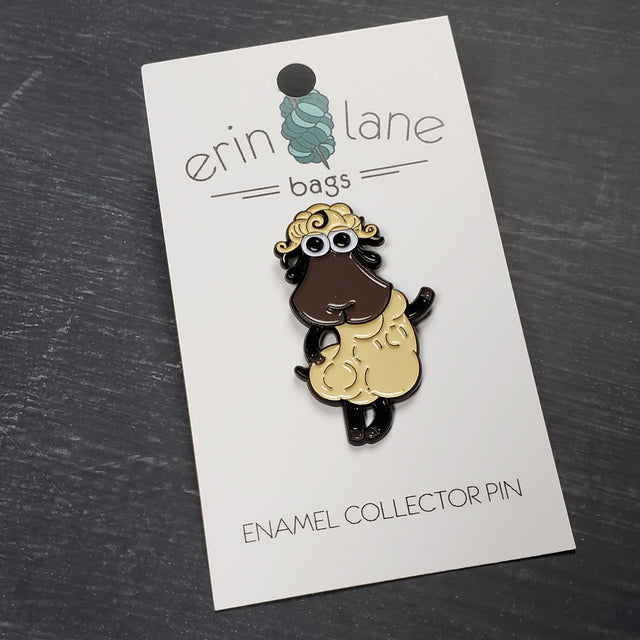 Enamel Pin in Demi Sheeple