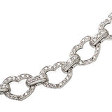 Basha Heart Shaped Pave Open-Link (Large)