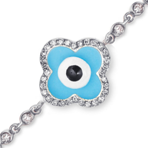 Diamond Rim Evil Eye