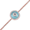 Blue Topaz Evil Eye (small)