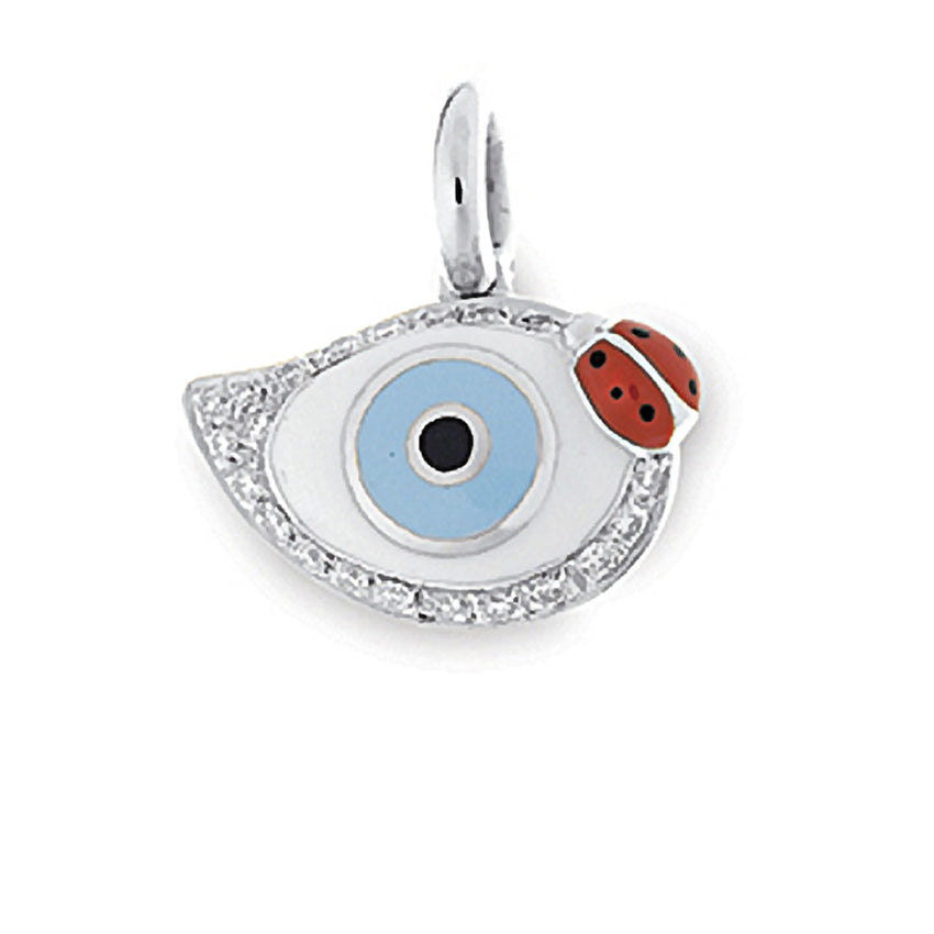 Evil Eye with Ladybug