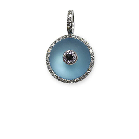 Blue Topaz Evil Eye (medium)