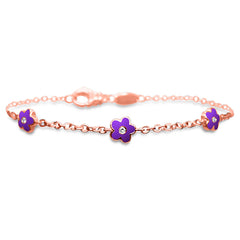 Flower Trio Bracelet (small)