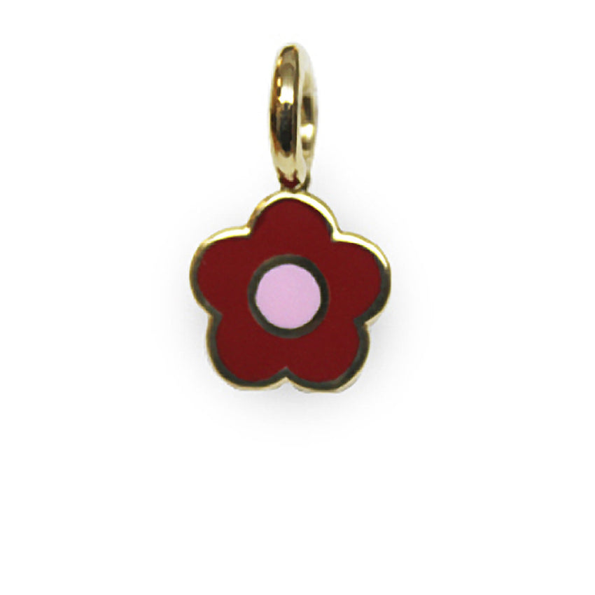 Flower Charm Small Enamel