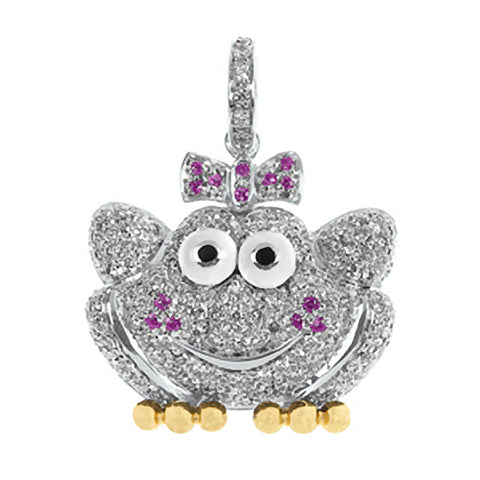 Pave Frog Princess (large)