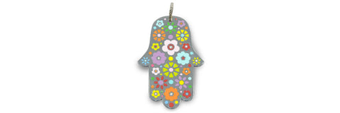 Hamsa with Flowers