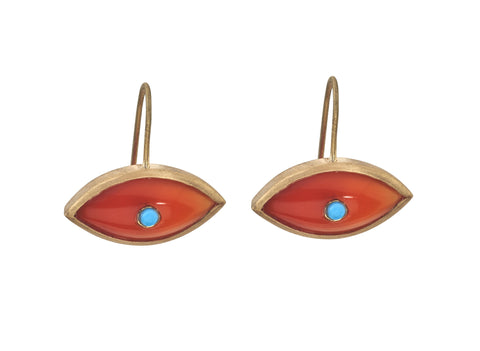 Sasha Stone Eye Earring