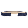 Stingray Leather Strap (navy)