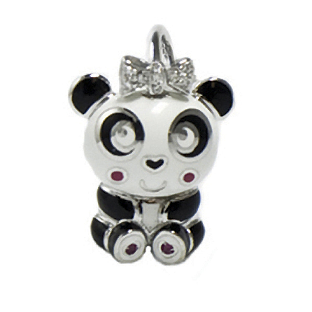 Panda with Bow