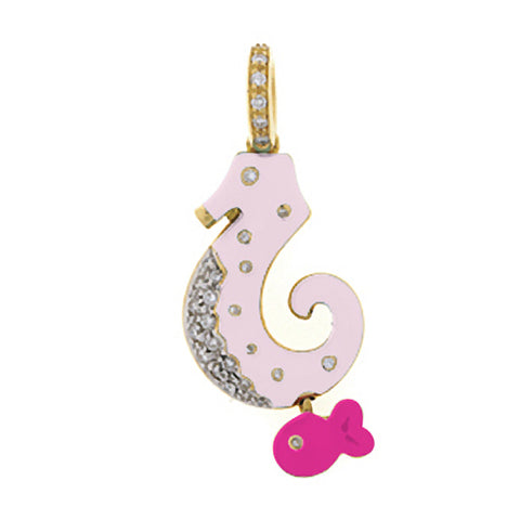 Seahorse with Fish Accent