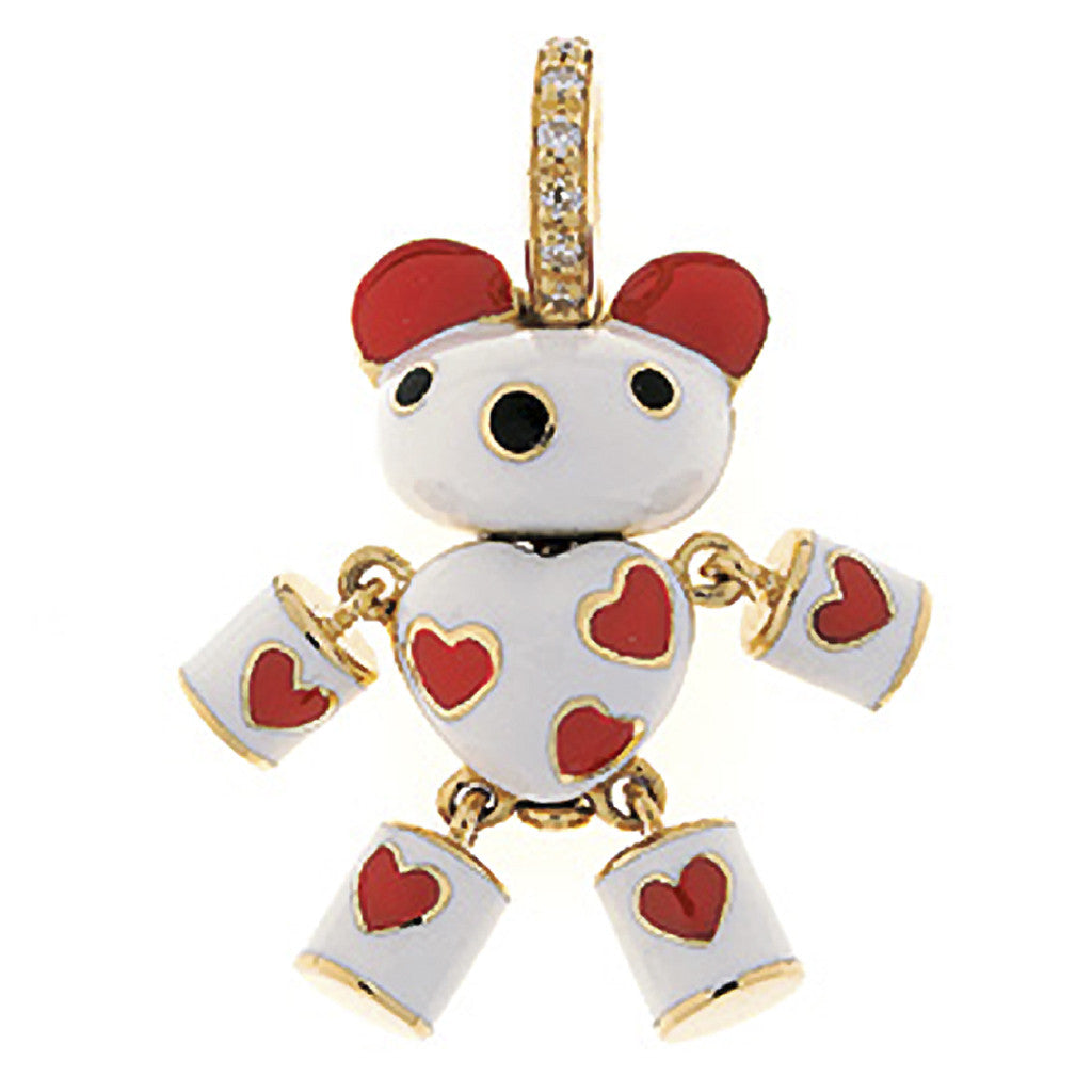 Toy Bear w/hearts