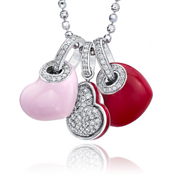 Floating Hearts- Charms & Necklace sold separately