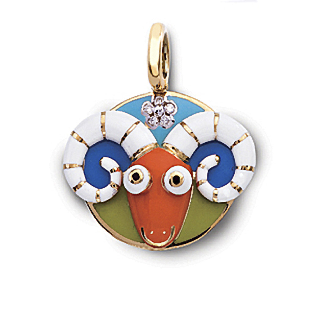 Aries Zodiac Charm (March 21 - April 19)