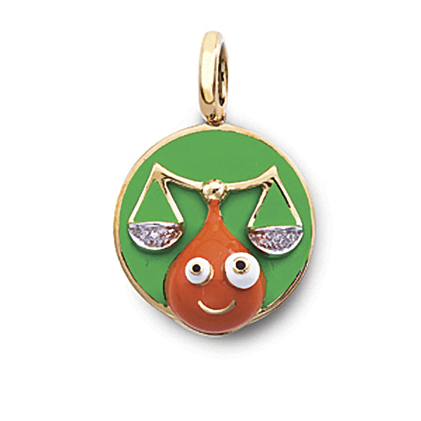 Libra Zodiac Charm (Sept. 23 - Oct. 22)