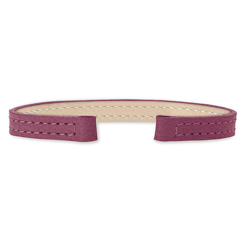 Leather Strap (fuschia)