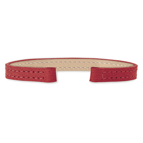 Leather Strap (red)