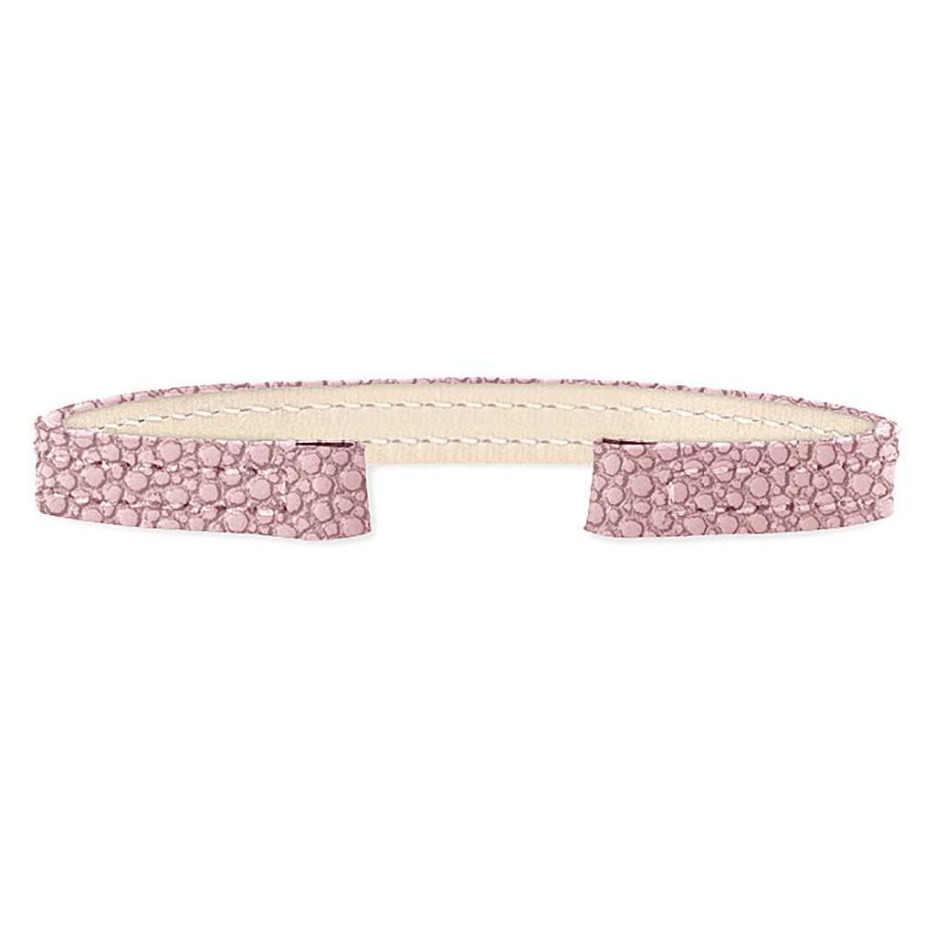 Stingray Leather Strap (pink)
