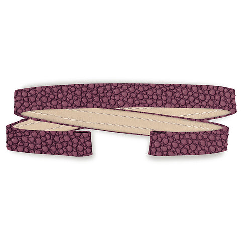 Stingray Double Wrap Strap (fuschia)