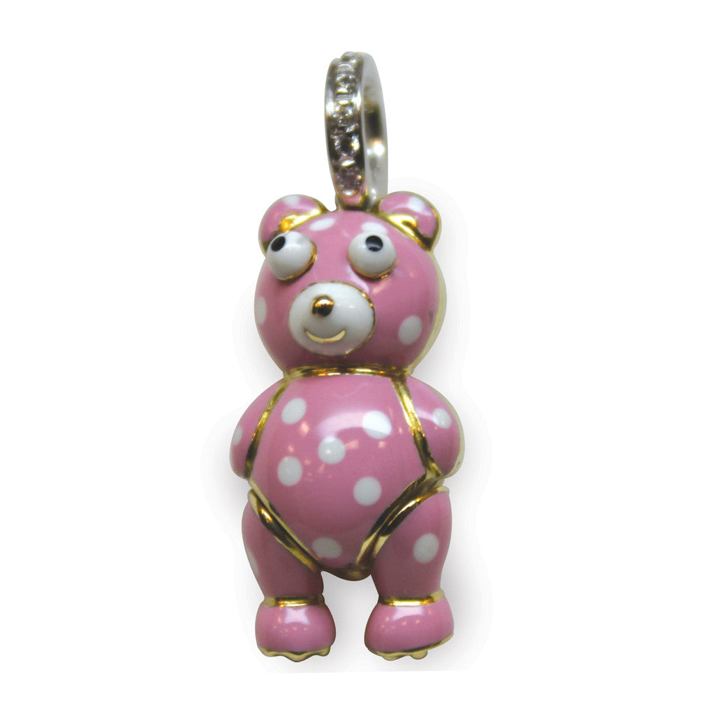 Teddy Bear with Polka Dots (large)