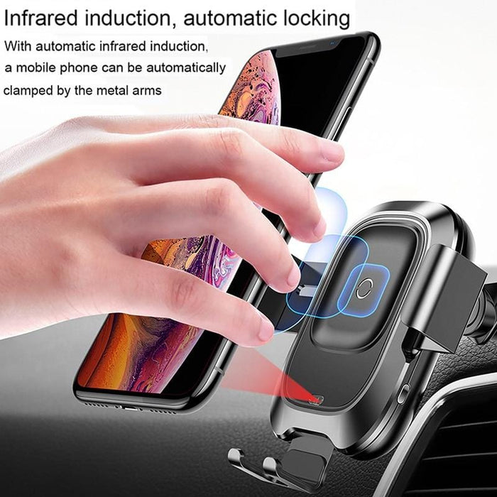 Baseus Qi Car Wireless Charger for iPhone Mobile Phone
