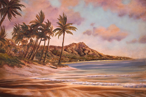Diamond Head Art Print