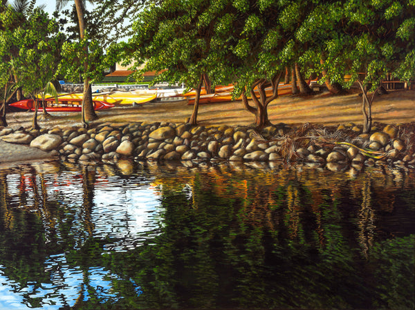 Haleiwa Afternoon Reflections