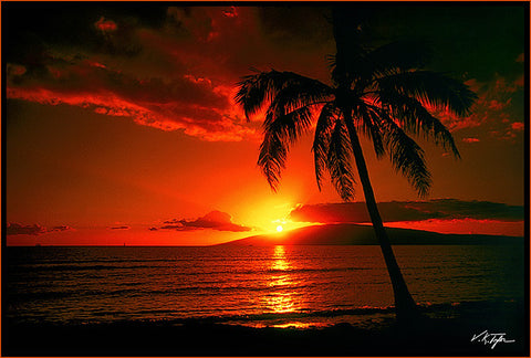 Island Sunset Photograph