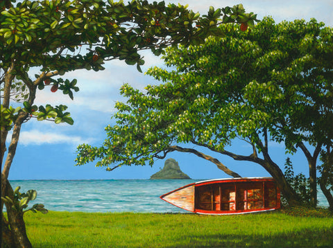 Kahaluu View Of Chinaman's Hat