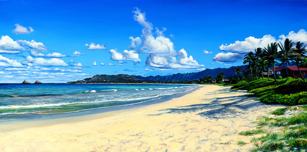 Kailua Beach Memories Art Print