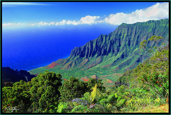 Kalalau Valley Photograph