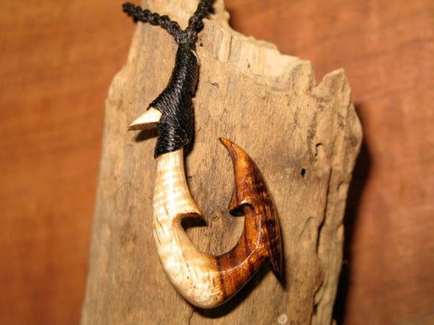 Koa Wood Fish Hook