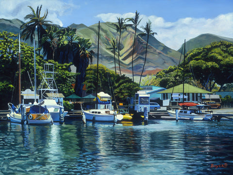 Lahaina Reflections Art Print
