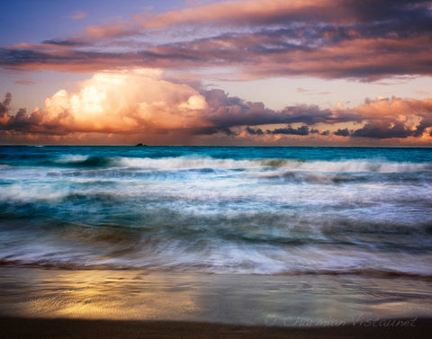 Evening at Kailua Beach Photograph