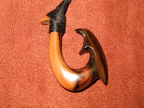 Rare Wood Fish Hook