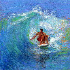 Morning Surfer Art