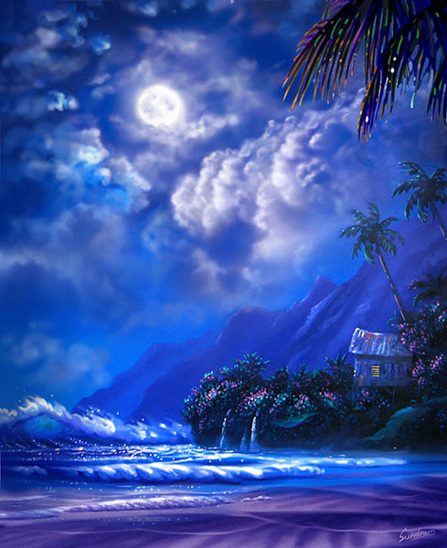 Tropical Shanty Art Print