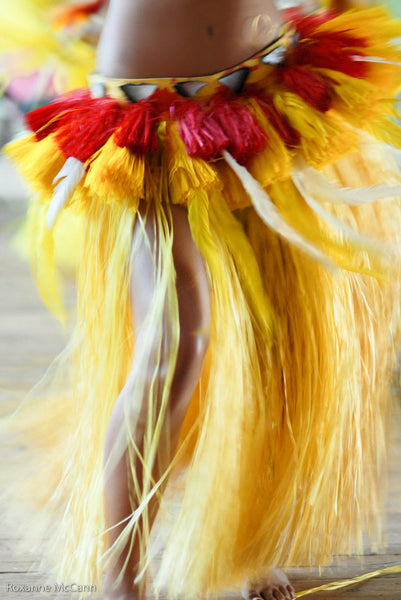 Yellow Grass Skirt