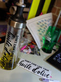 Olive Oil bottle decal