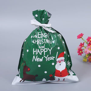 30 PCS One Set Drawstring Christmas Blessing Gift Bag