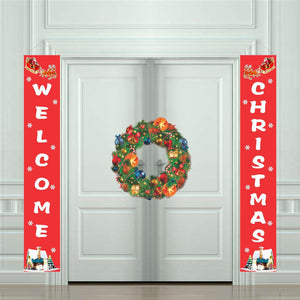 Christmas Door Couplet