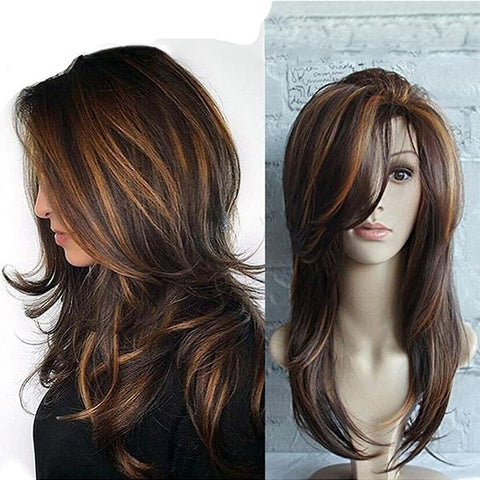 Side Bang Straight Synthetic Wig
