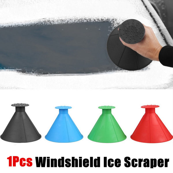 Multifunctional Automotive Glass Snow Remover Magical Car Ice Scraper