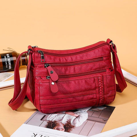 Multi-layer Soft Versatile Women's Bag