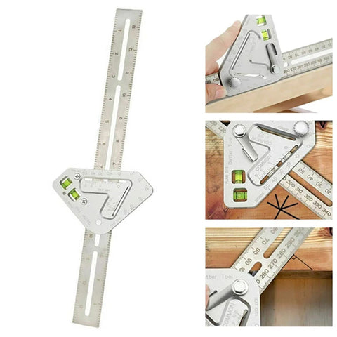 Stainless Steel Multi-Angle Carpentry Tool