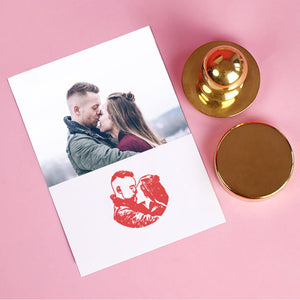 Personalized Creative Engraving Photo Seal
