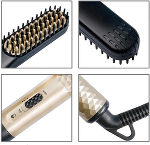 3-In-1 Multifunction Men's Straightener Brush