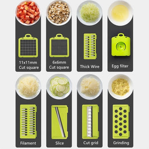 Magic 8-In-1 Vegetable Fruit Cutter Box