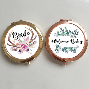 Custom Personalized Portable Mirror