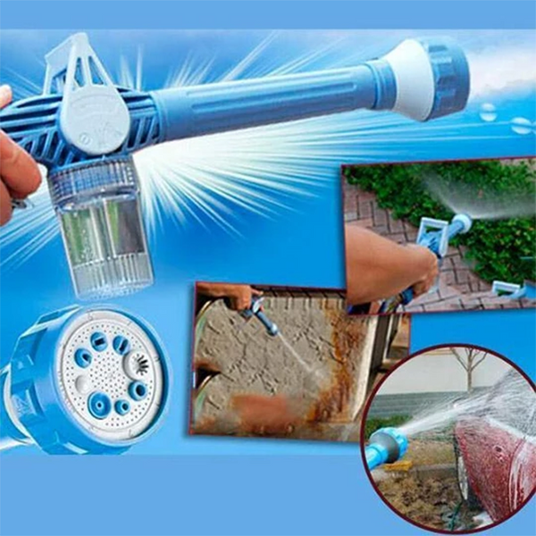 Eight In One Multi-function Watering Flower Cleaning Water Gun
